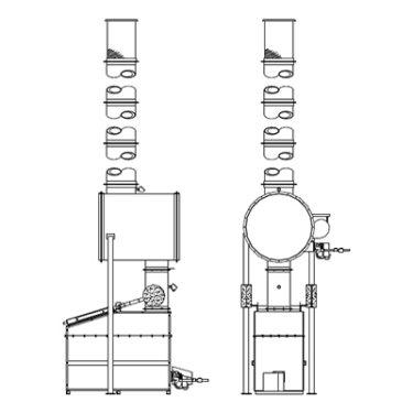 Firelake Animal Crematory System P16-SC30 - Mountain State Equipment